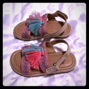 CAT & JACK sandals. EUC.  toddler Size 7